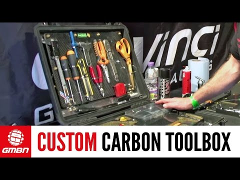 Custom Carbon Fiber Toolbox Tour   Pro Downhill Mechanics