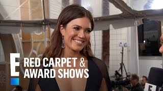 Mandy Moore Relives The Moment She Received Golden Globe Nom  E Live From The Red Carpet