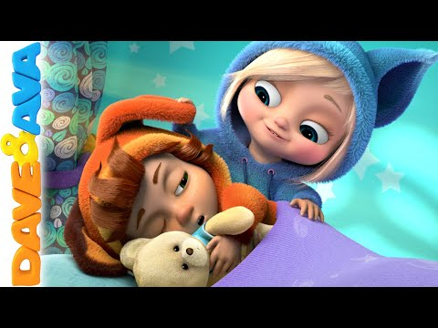 😴 Are You Sleeping Brother John | Kids Songs | Nursery Rhymes and Baby songs from Dave and Ava 😴