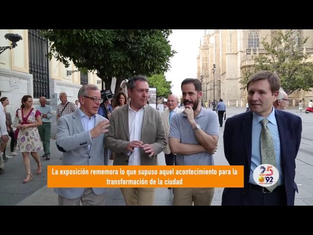 Inauguración de la muestra «Cómo Expo´92 [in]fluyó en Sevilla»