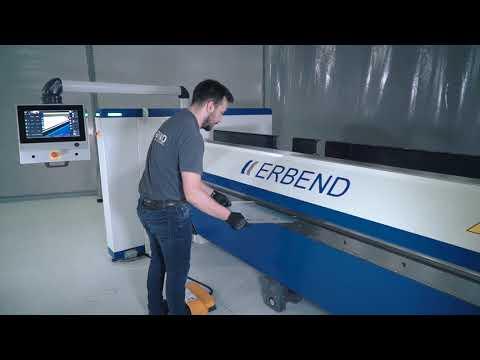Zaginarka CNC firmy Erbend typu MFD - zdjęcie