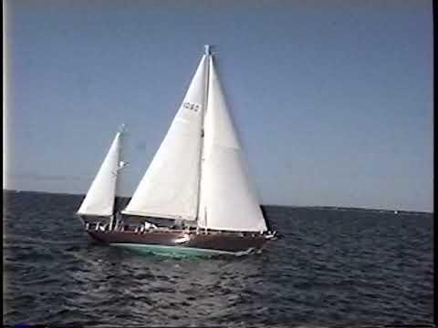 Ted Hood Maas Little Harbor K/CB Yawl video