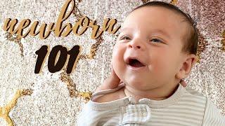 NEWBORN BABY 101   How to take care of a newborn baby