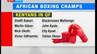 Kenya's 8 out of 10 male boxers advance to the next round at the African Boxing Championships