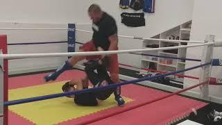Predstavitev MMA na odprtju Fitnes centra Herkul Gym na Prevaljah