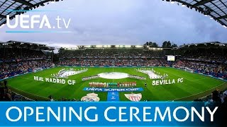 UEFA Super Cup Opening Ceremony - Real Madrid v Sevilla