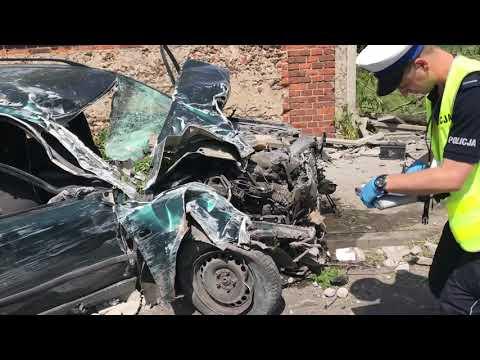 Wideo1: Wypadek w Kłodzie