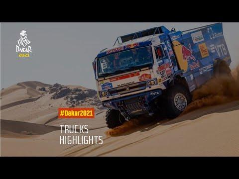 2021年 ダカール・ラリー トラッククラスの名シーンのみをまとめたハイライト動画