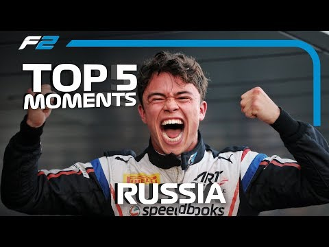 Top 5 Formula 2 Moments | 2019 Russian Grand Prix
