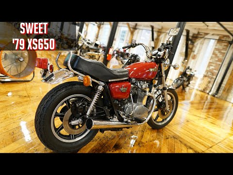 1980 Yamaha XS650 277° rephased 750cc - смотреть онлайн на