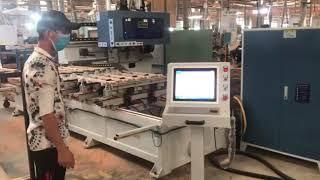 MÁY LÀM MỘNG ÂM CNC 10 Đầu ( 5x2) Woodmaster Làm việc siêu nhanh giá tốt nhất VN 2020
