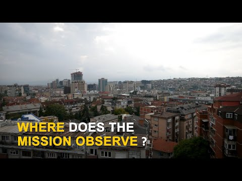 Where does the mission observe?