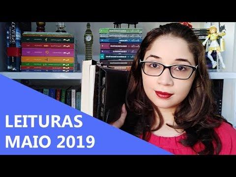 LEITURAS DE MAIO 2019 ?  | Biblioteca da Rô
