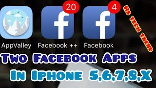 Install 2 Facebook Apps In Iphone /in Urdu-Hindi / Two Active Accounts / Without Jailbreak