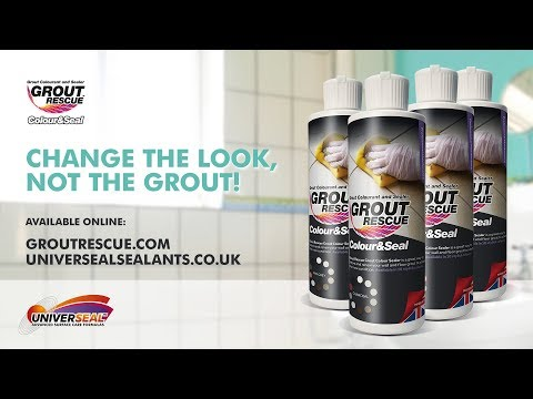 Grout Recolouring & Sealing - Grout Rescue By Universeal Sealants Mp3