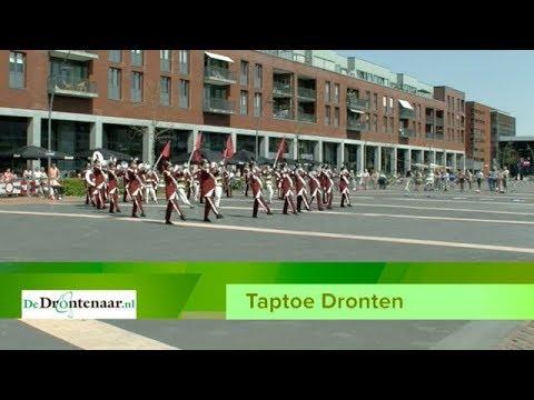 VIDEO | Wereldkampioen marsparade treedt op tijdens Bevrijdingstaptoe Dronten