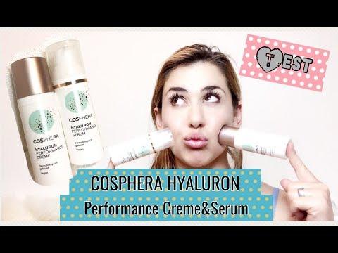 Cosphera Hyaluron Creme & Serum getestet-vegane Kosmetik ohne Tierversuche!!!