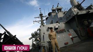 Trung Quốc phản đối tàu chiến Mỹ vào biển Đông   VTC Now