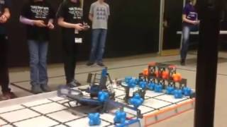February 25, 2017 Tournament at Fall River Elementary – Qualifying Match with Fall River Elementary School's Team 10884A (HEX), 2nd view