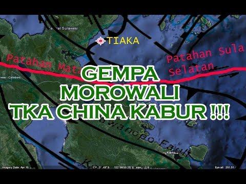 BMKG : situasi terkini..!! gempa di luwuk ,banggai dan morowali sulteng