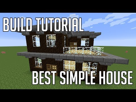 Minecraft: How to Make Best Simple House