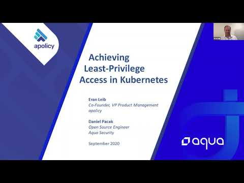 Achieving least privilege access in Kubernetes