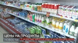 Цены на продукты. Новости. 30/12/2020