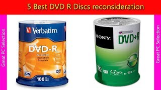 5 Best DVD R Discs reconsideration