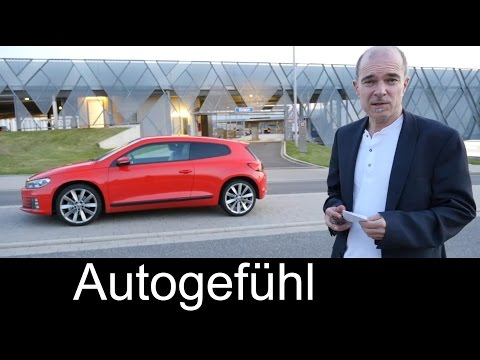 2015 Volkswagen Scirocco TDI Facelift test drive REVIEW VW Scirocco - Autogefühl