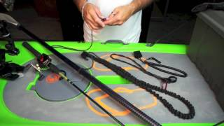 YakGear Product Overview - Paddle and Rod Leashes