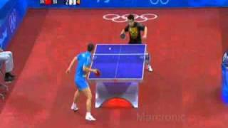 Olimpicos de Beijing 2008 Final Masculina Wang Hao - Ma lin.wmv