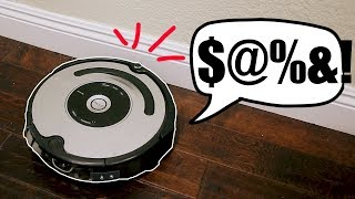 The Roomba That Screams When it Bumps Into Stuff