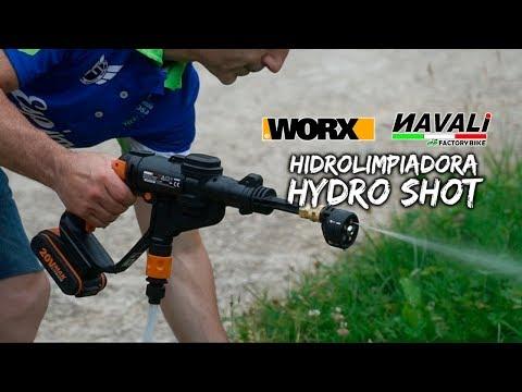 Hidrolimpiadora a presión Hydro Shot de NAVALI
