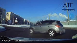 Подборка ДТП аварий 02. 03. 3018 года.  Аварии на регистратор.