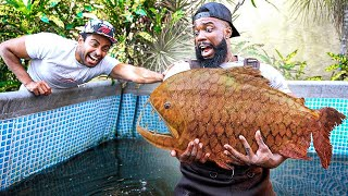 Catching Giant Piranhas With My Bare Hands In Florida!