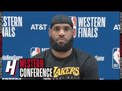 LeBron James Postgame Interview – Game 3 | Lakers vs Nuggets | September 22, 2020 NBA Playoffs