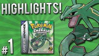 Pokemon Emerald Randomizer Nuzlocke - Highlights | PART 1
