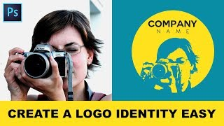 How To Convert Photos Into Logo Identity In Photoshop - Creating Illustrative Logo From A Photograph
