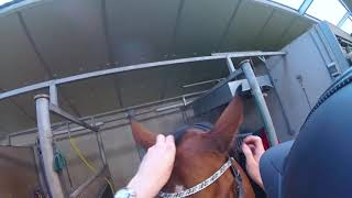 Horse tack up and ride!! GoPro FPV