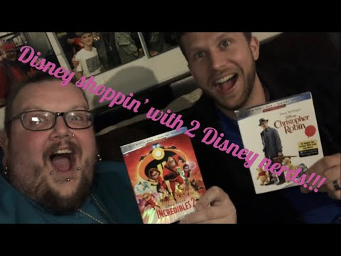 Blu Ray/DVD Shopping 11/06/18 (Disney Shoppin' With 2 Disney Nerds!!)