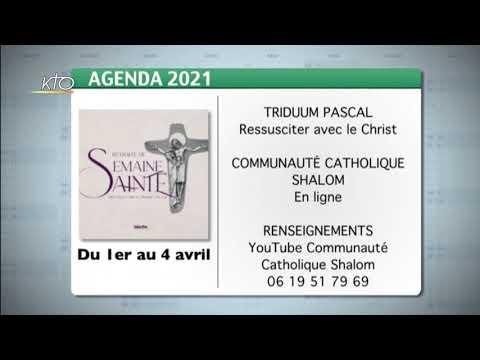Agenda du 26 mars 2021