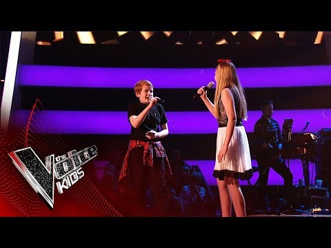Sweet Harmony Perform 'Hey Brother' | Blind Auditions | The Voice Kids UK 2019