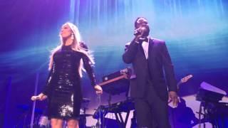 Mariah Carey  Trey Lorenz  'I'll Be There' at the Qatar Airways Hollywood Gala Dinner.