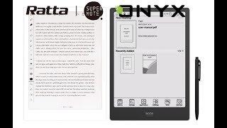 Onyx Boox Note Pro vs Ratta Supernote A5