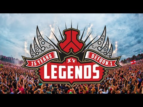 Defqon.1 Weekend Festival 2017 | Defqon.1 Legends | 15 Years of Hardstyle (видео)