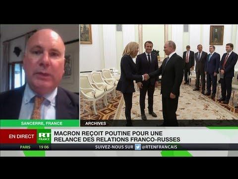 Poutine à Brégançon : John Laughland ne croit «pas à une réintégration de la Russie dans le G8»