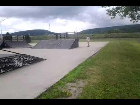 2nd Hornell skatepark clip.