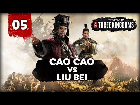 THE GREAT WAR BEGINS! Total War: Three Kingdoms - Cao Cao vs Liu Bei -  Multiplayer Campaign #5