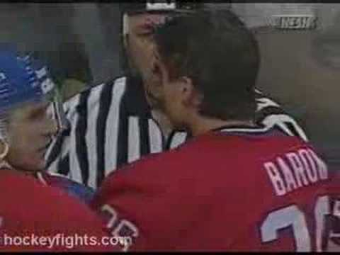 Troy Mallette vs. Murray Baron