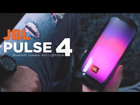JBL Pulse 4 (Black, 12h)